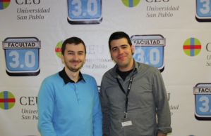Diego Areso (izquierda).